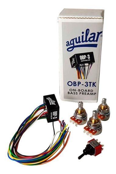 Circuito Aguilar Obp-3tk Completo - Baixo - Garantia E Nf