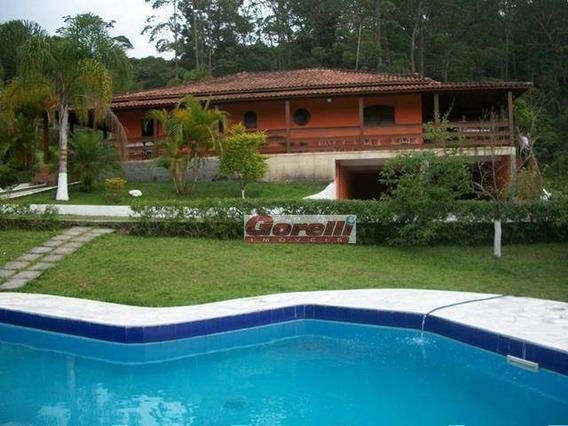 Chácara Com 3 Dormitórios, 10000 M² - Venda Por R$ 1.200.000 Ou Aluguel Por R$ 3.500/mês - Taiacupeba - Mogi Das Cruzes/sp - Ch0119