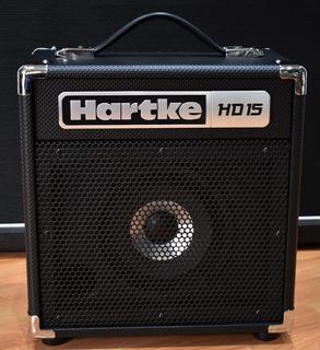 Combo Amplificador Para Bajo 15w 8 Pulgadas, Hartke Hd15