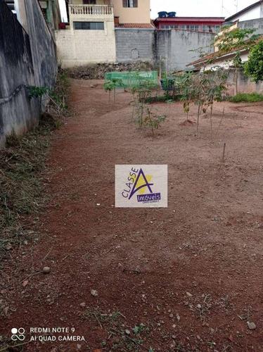 Imagem 1 de 4 de Terreno À Venda, 250 M² Por R$ 480.000 - Jardim Guapituba - Mauá/sp - Te0066
