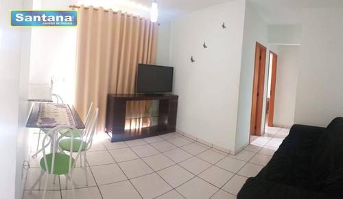 Apartamento Com 2 Dormitórios À Venda, 78 M² Por R$ 210.000,00 - Bandeirantes - Caldas Novas/go - Ap0812