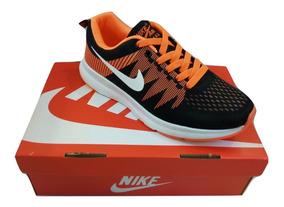 Zpt Deportivos Nike Air Max Zoom. Tallas 40-44. Anaranjado