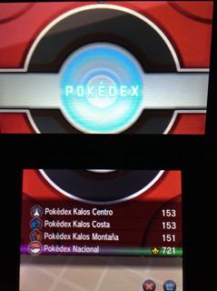 Pokemon Y Pokedex Completa 721 Evento Shiny Envio Gratis