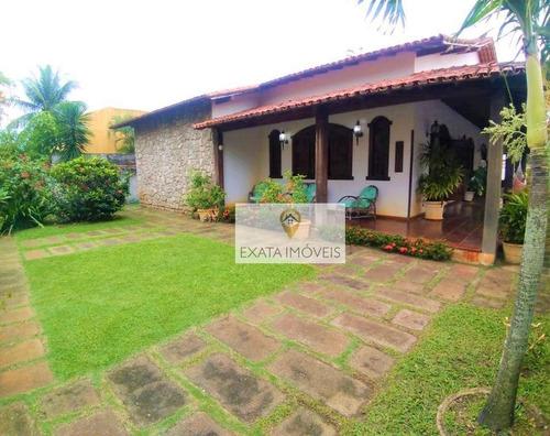 Imagem 1 de 28 de Casa Linear 04 Quartos, Próximo A Praia Da Baleia/costazul - Rio Das Ostras - Ca1147