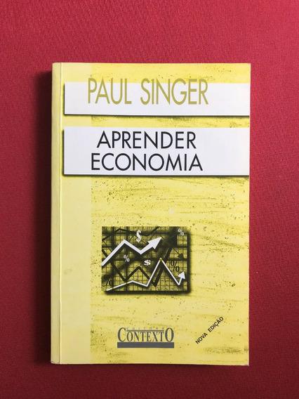 Livro - Aprender Economia - Paul Singer - Ed. Contexto