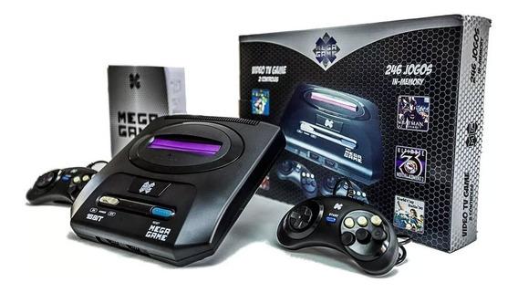 Vídeo Game Mega Game 122 Jogos Em 246 Versões Na Memoria