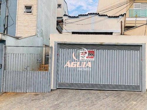 Imagem 1 de 15 de Casa À Venda, 139 M² Por R$ 460.000,00 - Vila Camilópolis - Santo André/sp - Ca0747