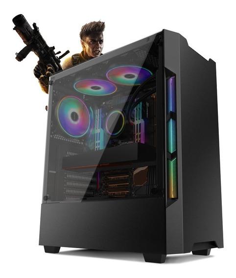 Pc Gamer Neologic Nli81328 I3-8100 8gb (rx 580 8gb)ssd240gb