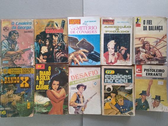 Kit Livros De Bolso Faroeste Antigo Bolsilivros