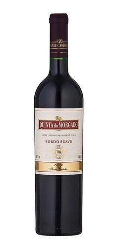 Imagem 1 de 2 de Vinho Tinto Mesa Bordô Suave Quinta Do Morgado 750ml