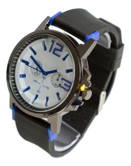 Relógio Esportivo Estilo Militar Importado Pulseira Silicone
