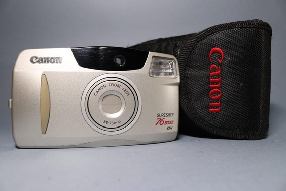 Câmera Canon Sure Shot 76 Zoom S Af