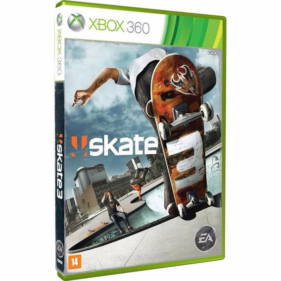 Skate 3 Xbox 360 Original Lacrado