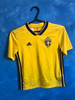 Camisa Futebol Infantil Suécia