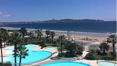 Departamento Hermosa Vista Frontal Al Mar