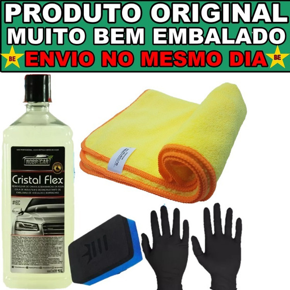 Cristal Flex Nobre Car Removedor De Chuva Ácida De Vidros