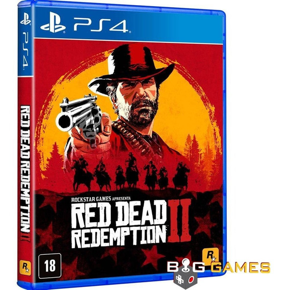 Red Dead Redemption 2 - Ps4 - Midia Fisica