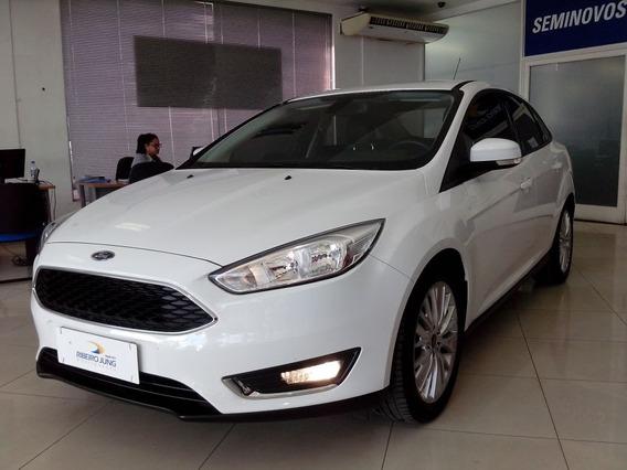 Ford Focus Sedan Se 2016 Branca Flex