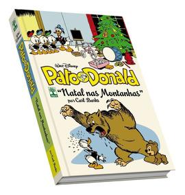 Livro Hq Pato Donald Por Carl Barks. Natal Nas Montanhas