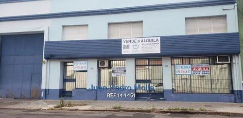 Venta Y Alquiler De Galpón En Aguada, Montevideo