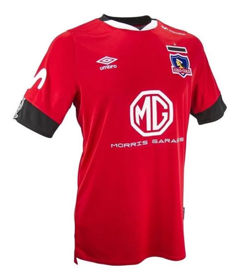 Camiseta Colo Colo Umbro Roja Tercera 2020 / Stgo. Boxer