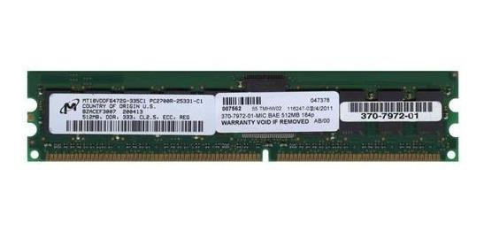 Memoria Ram Sun 370-7972 512mb Ddr Pc-2700 R