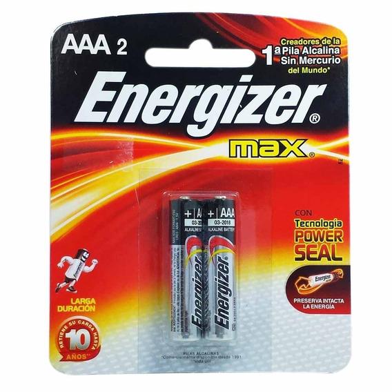 Pilha Energizer Max Aaa2 Cx C/10 Unid -20 Pilhas