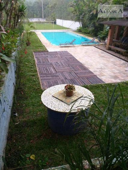 Chácara Com 3 Dormitórios À Venda, 4800 M² Por R$ 950.000,00 - Parque Das Garças - Santo André/sp - Ch0023