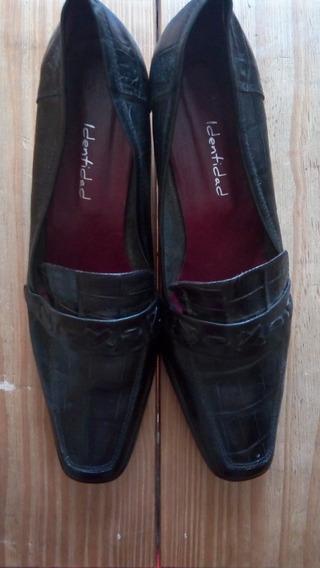 Zapato Dama Cuero-talle 40