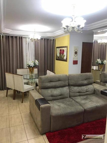 Apartamento Com 2 Dormitórios À Venda, 58 M² Por R$ 320.000 - Vila Milton - Guarulhos/sp - Ap0456
