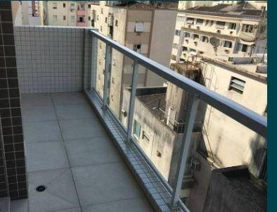Apartamento Com 1 Dormitório Para Alugar, 45 M² Por R$ 3.500,00/mês - Boqueirão - Santos/sp - Ap1476