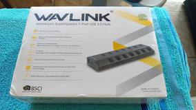 Hub Wavlink 7 Portas Usb 3.0