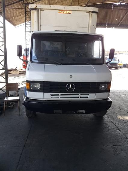 Caminhão Mb 914 C/ Sider Comp. 5 Metros Ano 1997