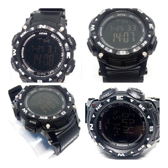 Relógio Masculino Digital Preto Xinjia 5atm