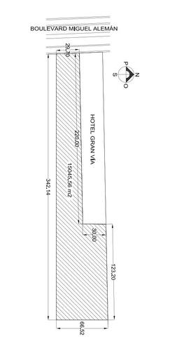 Imagen 1 de 5 de Terreno Sobre Blvd. Miguel Alemán De 15,045 M2