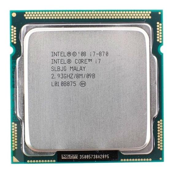 Processador Intel Core I7-870 4 Núcleos 16 Gb