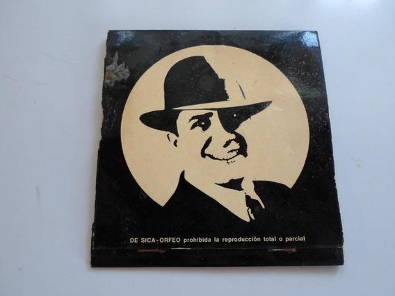 Caja De Fósforos Carterita Carlos Gardel