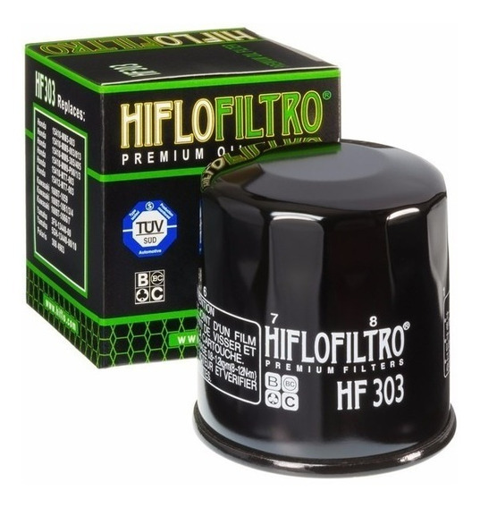 Filtro De Oleo Hiflo Filtro Hf 303 Honda, Kawasaki, Yamaha