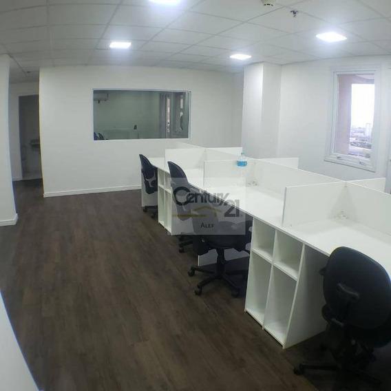 Conjunto Comercial De 70 M² No Led Offices Barra Funda!!! - Cj0150
