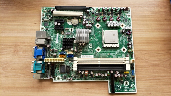 Placa Original Hp Dc5850 Am2 Ddr2 C/ Processador Dual Core
