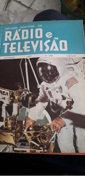 Lote C 9 Revistas Antigas Monitor De Rádio E Televisão Raras