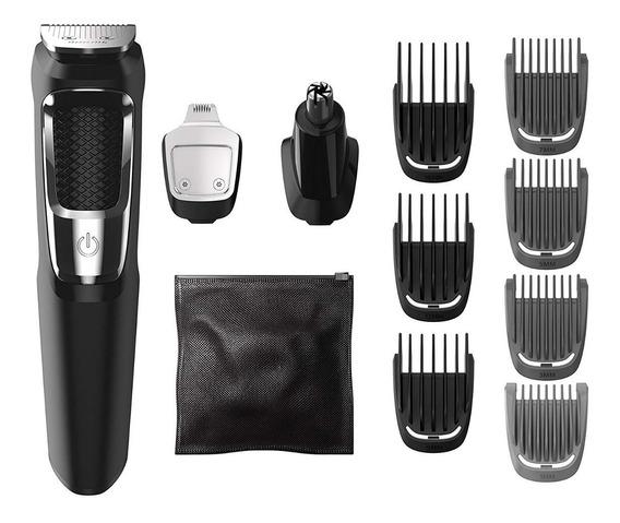 Maquina Cabelo/barba Philips Norelco Multigroom 3000 -13 Pçs