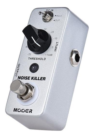 Mooer Noise Killer Mini Redu??o De Rudo Pedal De Efeito De