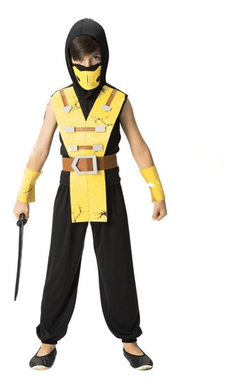 Fantasia Ninja Infantil