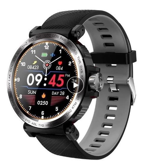 Reloj Inteligente Senbono Sport Ip68 A Prueba De Agua Con Pa