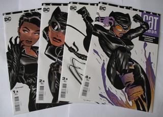 Catwoman Dc Comics Serie De 4 Números En Español Gatubela
