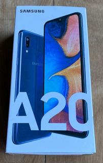 Samsung Galaxy A20 32 Gb Azul 3 Gb Ram - Personal/libre