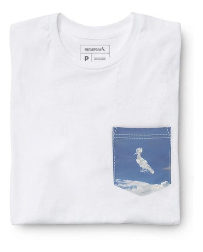 Camiseta Bolso Pica-pau Nuvem Reserva