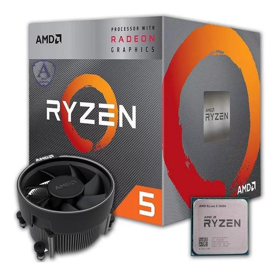 Processador Amd Ryzen 5 3400g 3.7ghz - 4.2ghz