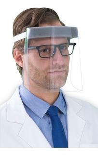 Careta Protectora Facial Abatible Y Reutilizable Calibre 20